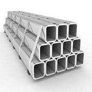 Tubos quadrados de aço carbono - 1