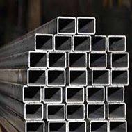 Tubos retangulares de aço carbono